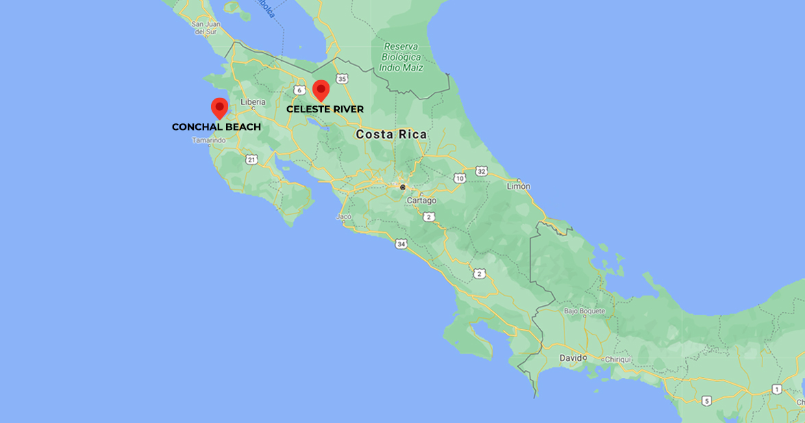 Luxury Escape to the Golden Coast of Costa Rica. 5-days trip in Costa Rica