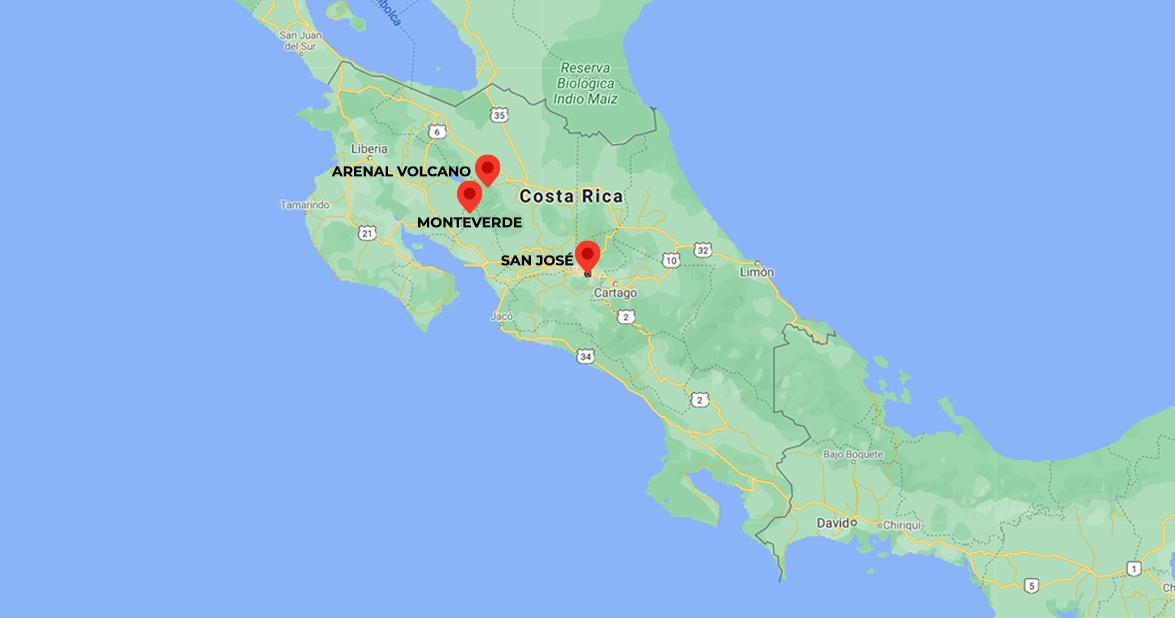Raft, Hike & Explore Costa Rica. 7-days trip in Costa Rica