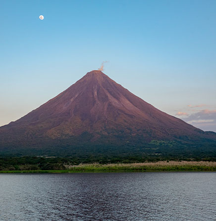 Arenal-Volcano-View-From-Arenal-Lake-Costa-Rica