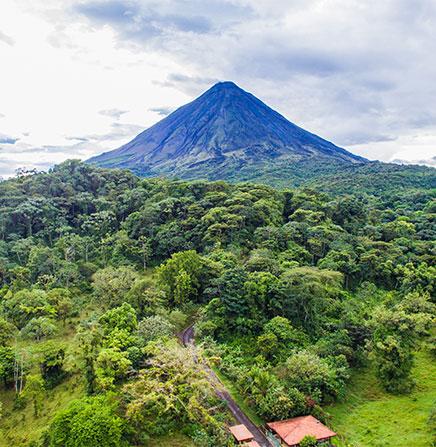 Arenal Volcano Panoramic View
