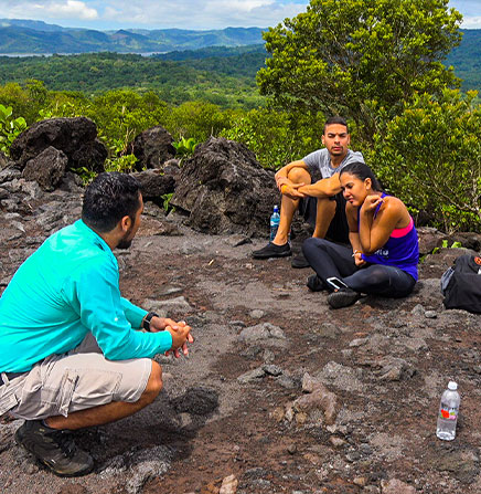 Guided walking tour to the Arenal Volcano National Park