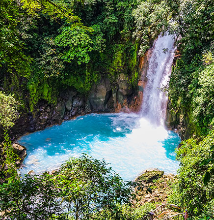 Celeste-River-Waterfall-View-Costa-Rica