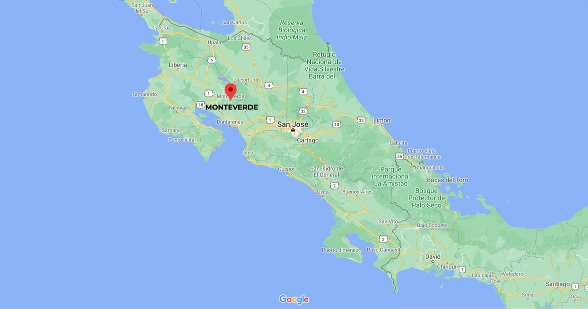 Monteverde Cloud Forest Reserve.