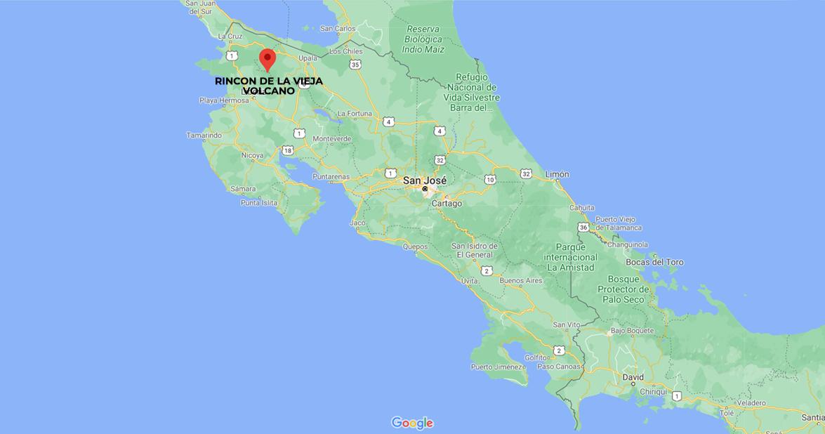 Rincon de la Vieja Volcano, North Pacific of Costa Rica