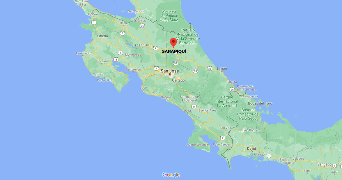 Sarapiqui Rainforest of Costa Rica.