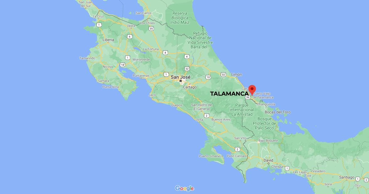 TALAMANCA MOUNTAIN RANGE