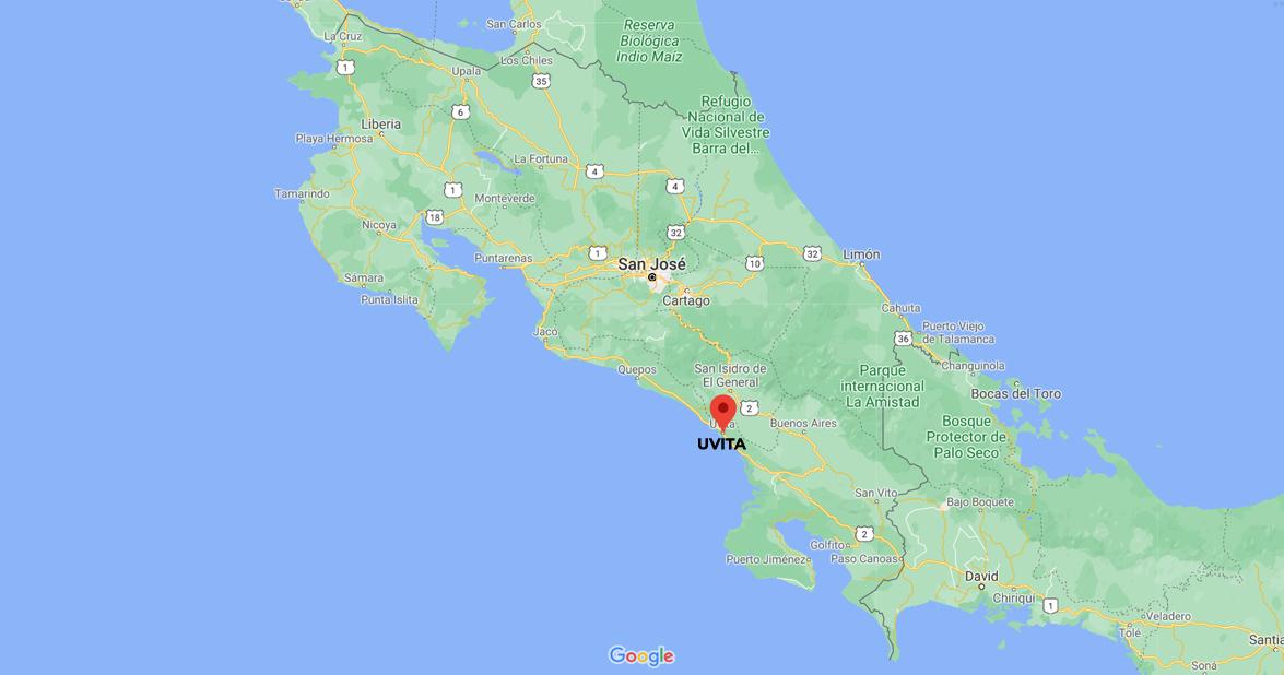 Uvita Beach, South Pacific of Costa Rica.